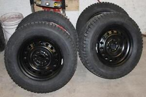 """2008-2017 Nissan Rogue Winter Snow Wheels Tires 17"""" NEW MPI FINANCE 225/65/17 or 225/60/17"""