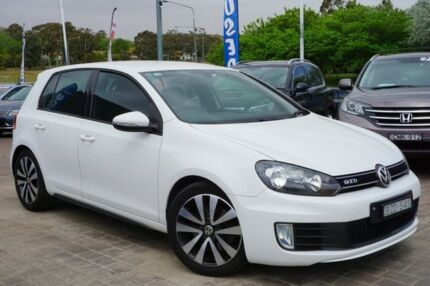 2011 Volkswagen Golf VI MY11 GTD DSG White 6 Speed Sports Automatic Dual Clutch Hatchback Pearce Woden Valley Preview
