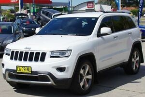 2014 Jeep Grand Cherokee White Sports Automatic Wagon Greenacre Bankstown Area Preview