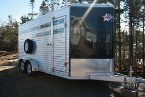 Horse trailer heading from Halifax to NFLD in May