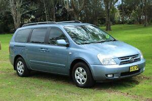 2008 Kia Grand Carnival VQ (EX) Blue 5 Speed Automatic Wagon Port Macquarie Port Macquarie City Preview