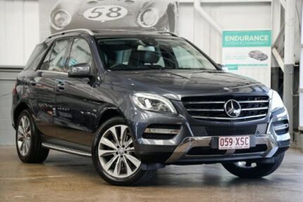 2012 Mercedes-Benz ML350 W166 BlueTEC 7G-Tronic + Tenorite Grey 7 Speed Sports Automatic Wagon Albion Brisbane North East Preview