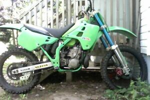 kx 250 great shape needs nothing for sale or trade