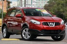 2013 Nissan Dualis J107 Series 4 MY13 +2 Red 6 Speed Constant Variable Hatchback Windsor Brisbane North East Preview