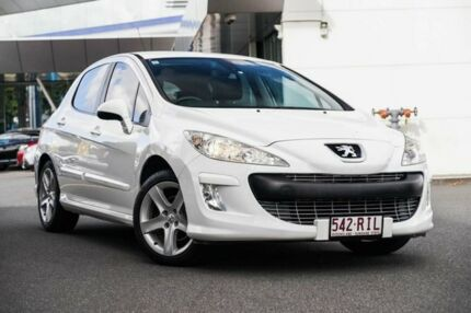 2010 Peugeot 308 T7 XSE White 6 Speed Sports Automatic Hatchback Mount Gravatt Brisbane South East Preview