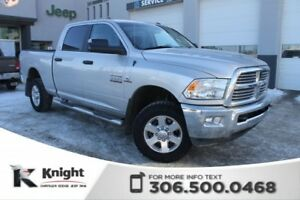 2014 Ram 2500 SLT - Bluetooth - 40/20/40 Split Front Cloth Bench