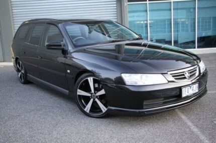 2002 Holden Commodore VY Executive Black 4 Speed Automatic Wagon Port Melbourne Port Phillip Preview