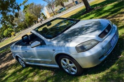 2001 Holden Astra TS Convertible Silver 5 Speed Manual Convertible Rockingham Rockingham Area Preview