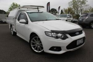 2014 Ford Falcon White Manual Cab Chassis