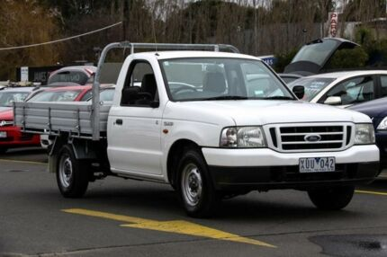 2003 Ford Courier PG GL White 5 Speed Manual Cab Chassis Ringwood East Maroondah Area Preview