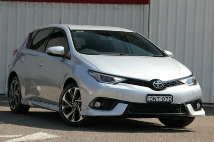 2016 Toyota Corolla ZRE182R ZR S-CVT Silver 7 Speed Constant Variable Hatchback Tuggerah Wyong Area Preview
