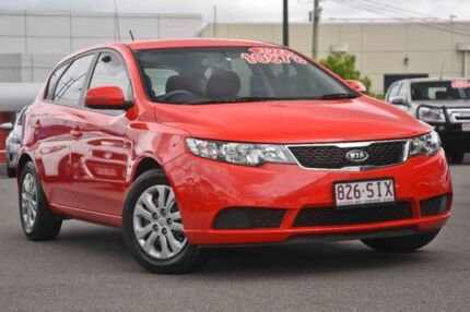 2012 Kia Cerato TD MY12 SI Racing Red 6 Speed Manual Hatchback