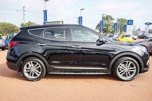 2016 Hyundai Santa Fe DM3 MY17 Highlander Black 6 Speed Sports Automatic Wagon Wangara Wanneroo Area Preview