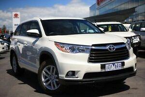 2014 Toyota Kluger GSU55R GX AWD White 6 Speed Sports Automatic Wagon Frankston Frankston Area Preview