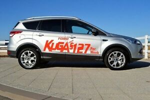 2015 Ford Kuga TF MY16 Trend PwrShift AWD Silver 6 Speed Sports Automatic Dual Clutch Wagon Midland Swan Area Preview