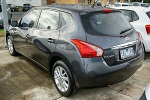 2013 Nissan Pulsar C12 ST Grey 1 Speed Constant Variable Hatchback Lake Wendouree Ballarat City Preview