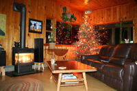 REDUCED !! 4500 sq ft lodge, 6 cottages, 1100 ft of waterfront