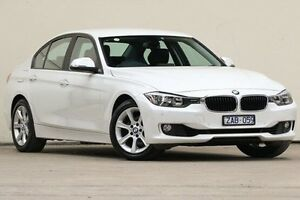 2012 BMW 320i White Sports Automatic Sedan Vermont Whitehorse Area Preview
