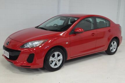 2011 Mazda 3 BL10F1 MY10 Neo Activematic Red 5 Speed Sports Automatic Sedan Toowoomba Toowoomba City Preview