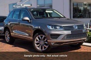 2016 Volkswagen Touareg 7P MY16 V6 TDI Tiptronic 4MOTION Grey 8 Speed Sports Automatic Wagon Frankston Frankston Area Preview