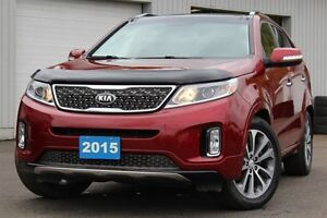 2015 Kia Sorento SX-ACCIDENT FREE+ONE OWNER+HEATED/COOLED SEATS