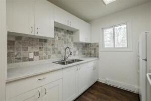 Renovated-3 Bedroom main floor of house with large backyard
