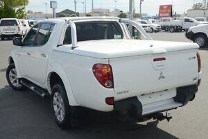 2011 Mitsubishi Triton MN MY12 GLX-R Double Cab White 5 Speed Manual Utility Acacia Ridge Brisbane South West Preview