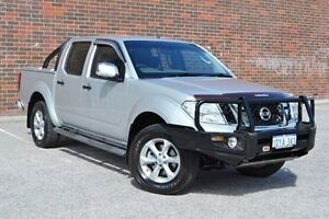 2012 Nissan Navara D40 S5 MY12 ST-X 550 Silver 7 Speed Sports Automatic Utility Woodbridge Swan Area Preview