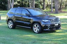 2013 Jeep Grand Cherokee SRT Brilliant Black Crystal Pearl Automatic Wagon Port Macquarie Port Macquarie City Preview