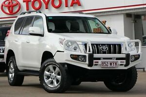 2012 Toyota Landcruiser Prado KDJ150R GXL Glacier 5 Speed Sports Automatic Wagon Woolloongabba Brisbane South West Preview