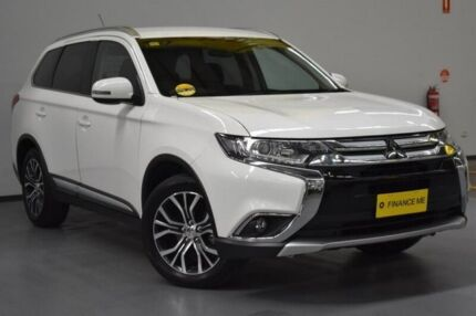 2015 Mitsubishi Outlander ZK MY16 XLS 2WD White 6 Speed Constant Variable Wagon Brooklyn Brimbank Area Preview