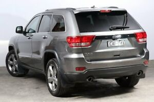 2012 Jeep Grand Cherokee WK MY2013 Limited Grey 6 Speed Sports Automatic Wagon
