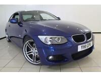 2011 11 BMW 3 SERIES 2.0 320D M SPORT 2DR AUTOMATIC 181 BHP DIESEL