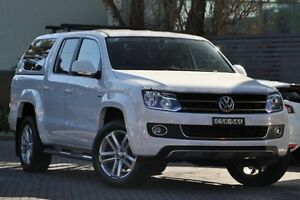 2014 Volkswagen Amarok 2H MY14 TDI420 4Motion Perm Ultimate Candy White 8 Speed Automatic Utility Artarmon Willoughby Area Preview
