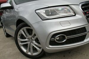 2014 Audi SQ5 8R MY14 3.0 TDI Quattro Silver 8 Speed Automatic Wagon Petersham Marrickville Area Preview