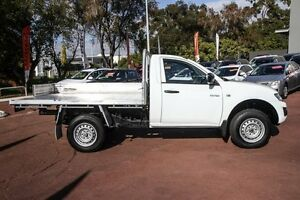 2013 Mitsubishi Triton MN MY13 GLX White 4 Speed Sports Automatic Cab Chassis Wilson Canning Area Preview