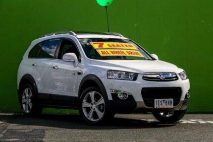 2013 Holden Captiva CG Series II MY12 7 AWD LX White 6 Speed Sports Automatic Wagon Ringwood East Maroondah Area Preview