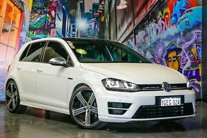2014 Volkswagen Golf VII MY14 R DSG 4MOTION White 6 Speed Sports Automatic Dual Clutch Hatchback Northbridge Perth City Area Preview