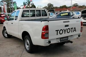 2012 Toyota Hilux GGN15R MY12 SR Glacier White 5 Speed Automatic Old Guildford Fairfield Area Preview