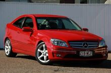 2010 Mercedes-Benz CLC200 Kompressor CL203 Red 5 Speed Automatic Coupe Chermside Brisbane North East Preview
