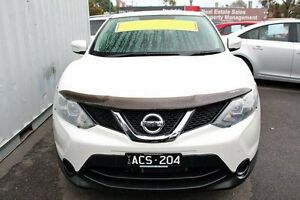 2014 Nissan Qashqai White Constant Variable Wagon Cranbourne Casey Area Preview