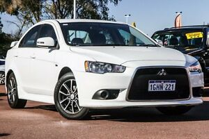 2015 Mitsubishi Lancer CJ MY15 ES Sport White 6 Speed Constant Variable Sedan Wilson Canning Area Preview