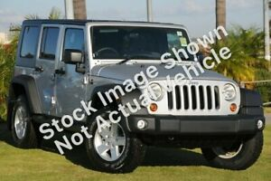 2010 Jeep Wrangler JK MY2010 Unlimited Sport Silver 6 Speed Manual Softtop Clarkson Wanneroo Area Preview