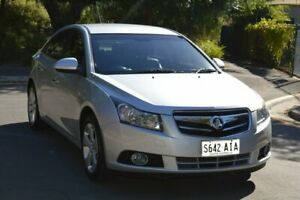 2010 Holden Cruze JG CDX Silver 6 Speed Sports Automatic Sedan Norwood Norwood Area Preview