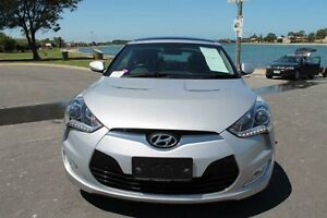 2014 Hyundai Veloster FS MY13 + Silver 6 Speed Auto Dual Clutch Coupe Pennington Charles Sturt Area Preview
