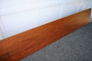 "Rosewood Teak Headboard 8' 6"" by 14"""