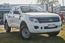 2014 Ford Ranger PX XL Hi-Rider Cool White Semi Auto Utility Capalaba West Brisbane South East Preview