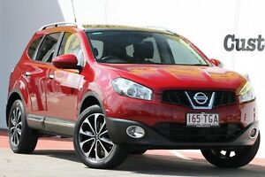 2013 Nissan Dualis J107 Series 3 MY12 +2 Hatch X-tronic 2WD Ti-L Maroon 6 Speed Constant Variable Chermside Brisbane North East Preview