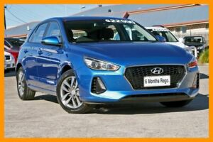 2018 Hyundai i30 PD2 MY18 Active Blue 6 Speed Sports Automatic Hatchback Hillcrest Logan Area Preview