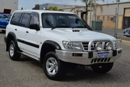 2003 Nissan Patrol GU III MY2003 ST White 5 Speed Manual Wagon Pearsall Wanneroo Area Preview